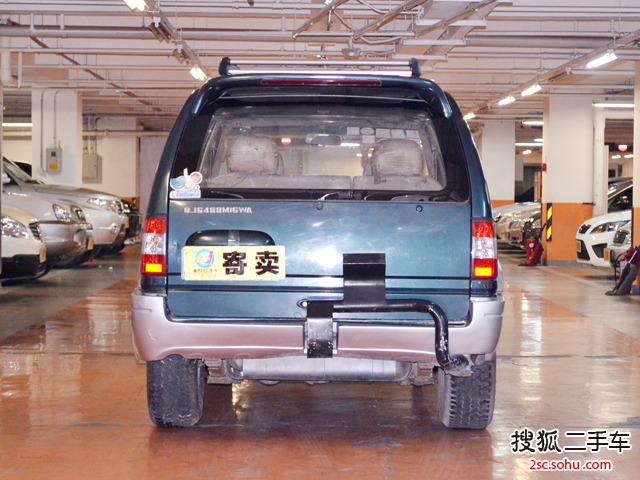福田风景冲浪2003款suv