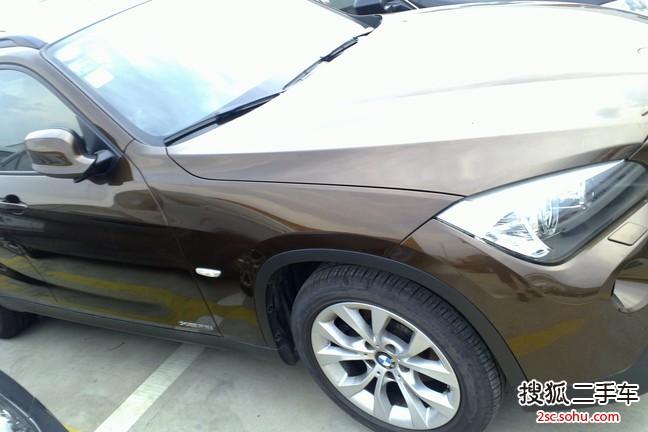 苏州二手 宝马x12013款sdrive18i 时尚型 27.8 高清图片