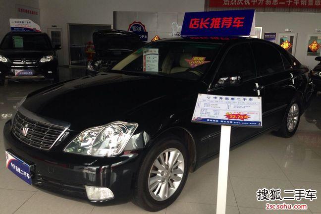青岛二手丰田皇冠2007款2
