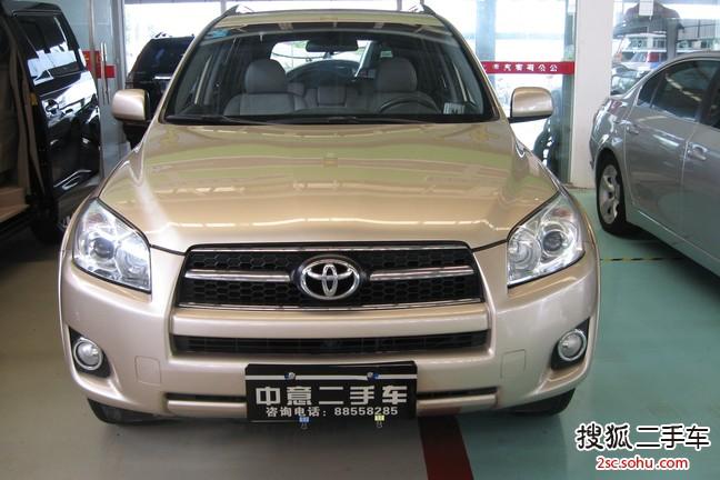中山-丰田rav42009款2.4l 自动 豪华版