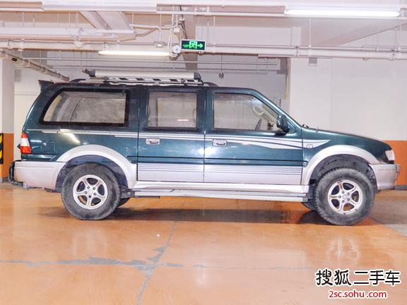 北京二手福田风景冲浪2003款suv