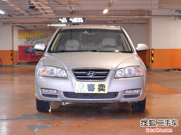 北京二手现代伊兰特2009款1.6l自动舒适型 7. 高清图片