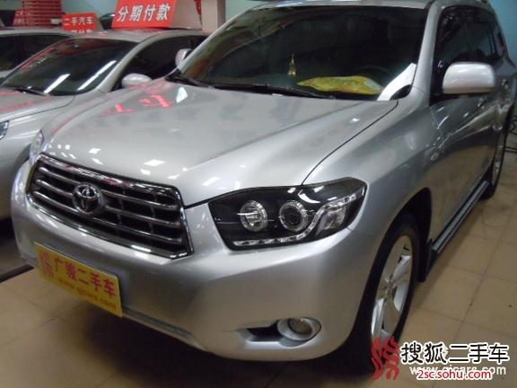 广州二手丰田广汽丰田汉兰达 越野车SUV 28.8